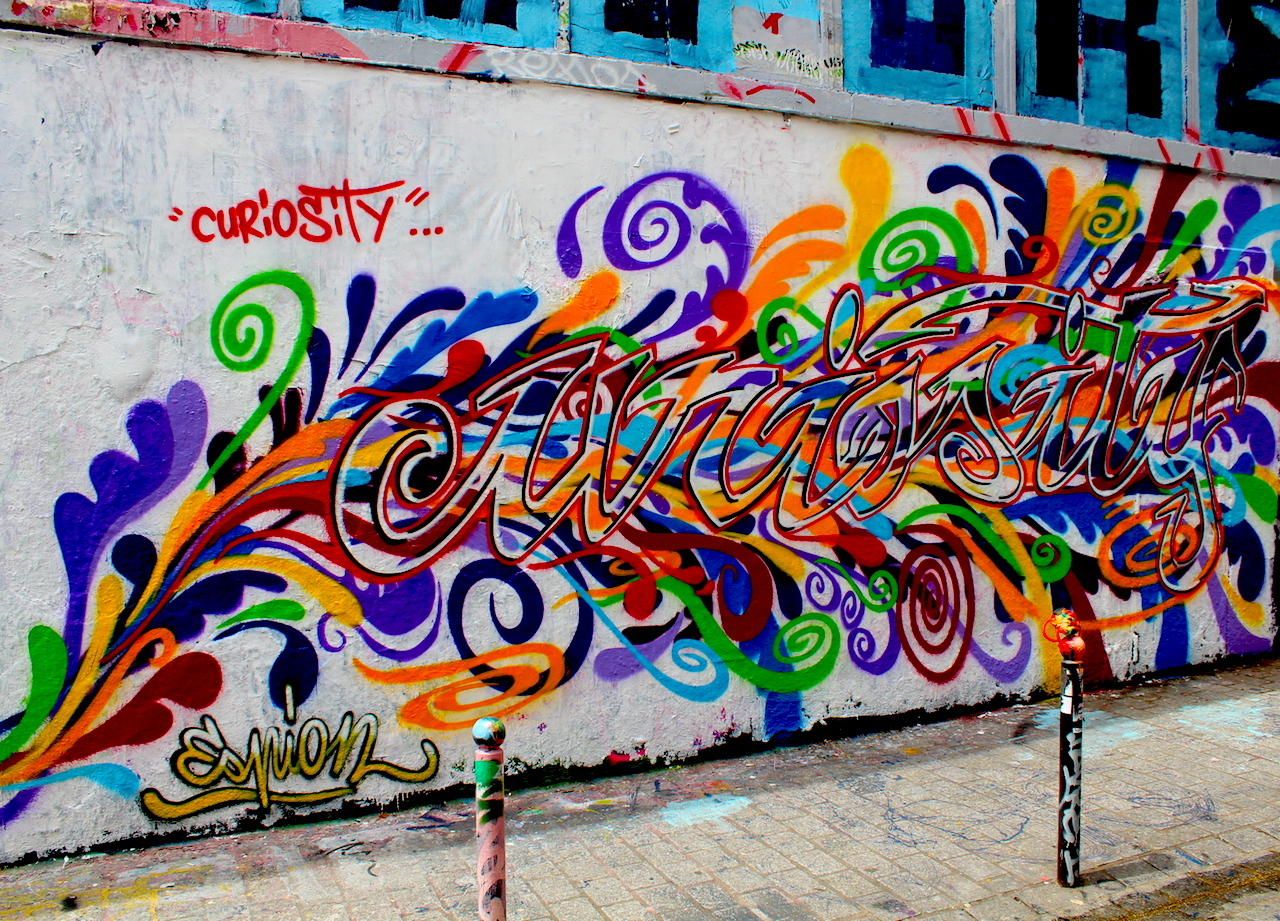 street art: curiousity