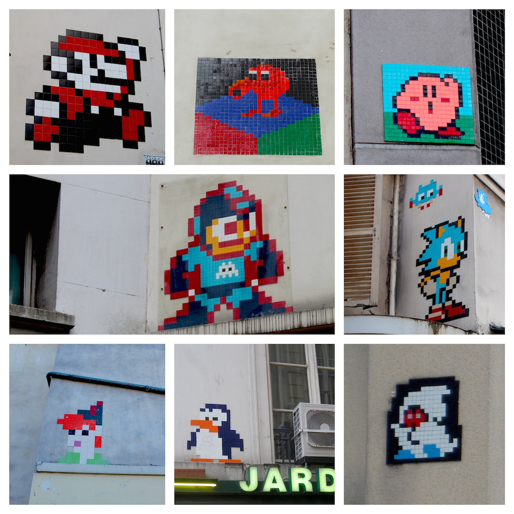 street art: Non-space invaders